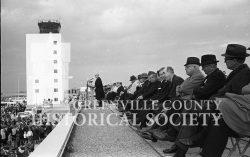 3625-DIGNATARIES-AT-DEDICATION-OF-NEW-GREENVILLE-SPARTANBURG-AIRPORT-11-5-1962a