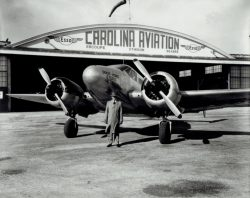 A14 Carolina Aviation Hangar Dixie Home Store Airplane Man