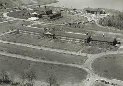 Aerial Furman University 1960s
