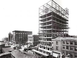 Construction of Poinsett Hotel 1924