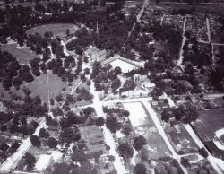 Furman University Old Campus Aerial