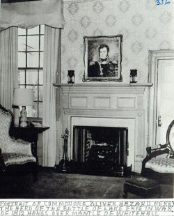 Oscar-Landing-Bk-1-p40b-Whitehall-Interior-with-portrait-of-Commodore-Perry