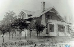 c. 1915 Carey Home West Earle St.
