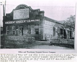 Cresent Grocery Company Office and Warehouse c. 1910