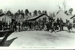 118th Infantry Camp Sevier