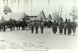 120th Infantry Supply Camp Sevier