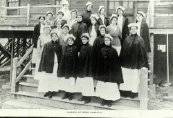 Nurses at Camp Sevier