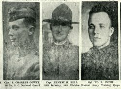 Officers of 30th Division Camp Sevier