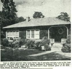 Officers House Camp Sevier