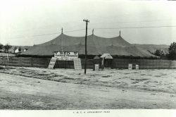 YMCA Amusement Tent Camp Sevier