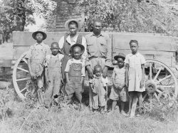 African American Family Laurens County