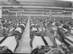American Monorail Weave Room