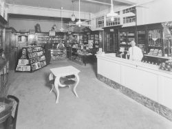 Bruce and Doster Drug Store Interior Early 1930s