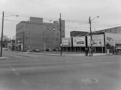 Main Street 1958 - With Elks Club on East North Street