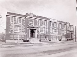 Old Greenville High School at McBee and Westfield