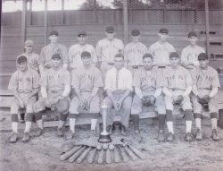 Southern Bleachery Baseball Team