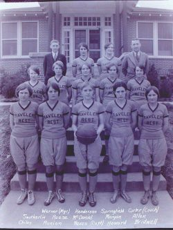 Travelers Rest High School Girls Basketball Team