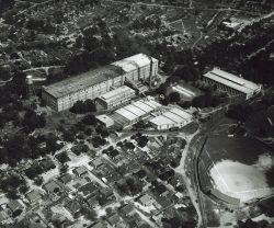 Brandon Mill Plant, Houses, Ballpark aerial