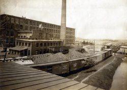 Woodside Mills Train Yard